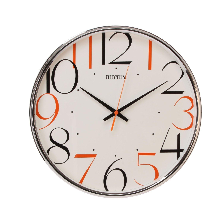 Rhythm contemporary rhythm wall clock silent wall clock amazon rhythm contemporary rhythm wall clock silent wall clock amazon kitchen home amipublicfo Images