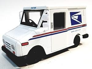 Kinsmart White USPS Postal Service Delivery Truck LLV 1/36 Scale Commercial Diecast