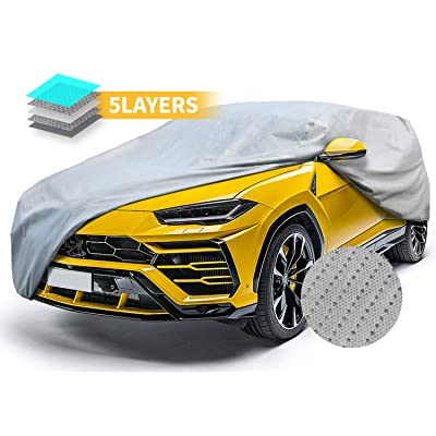 "SUV Car Covers, Vehicle Cover for All Weather Breathable Waterproof Car Covers Universal Fit 186"": Automotive"