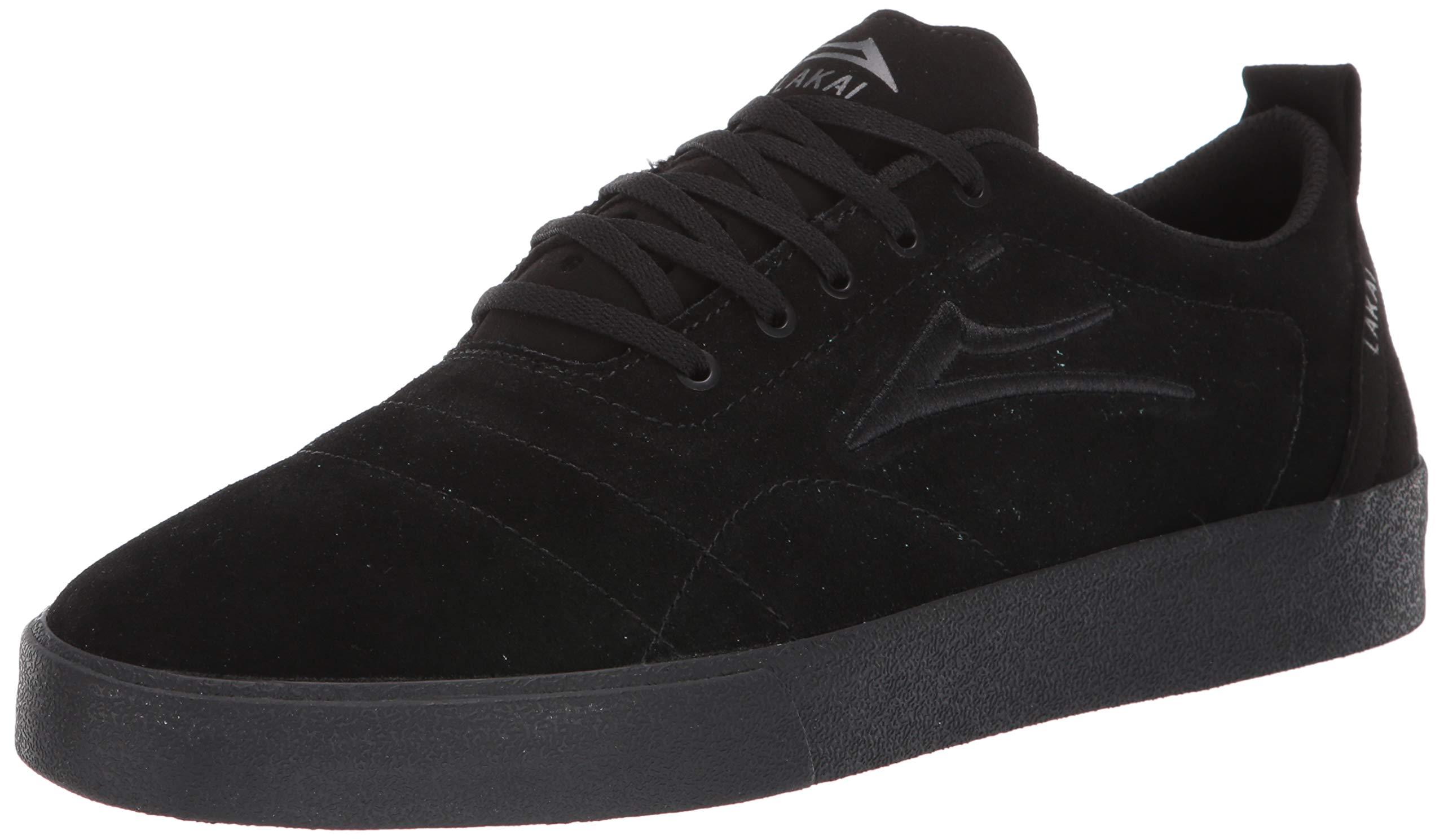 Lakai Limited Footwear Mens Bristol Skate Shoe, Black Suede, 10.5 M US by Lakai Limited Footwear Mens