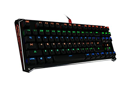 4761efea560 B830 Light Strike Compact Optical Gaming Keyboard (Tactile & Clicky) -  Faster Than Mechanical