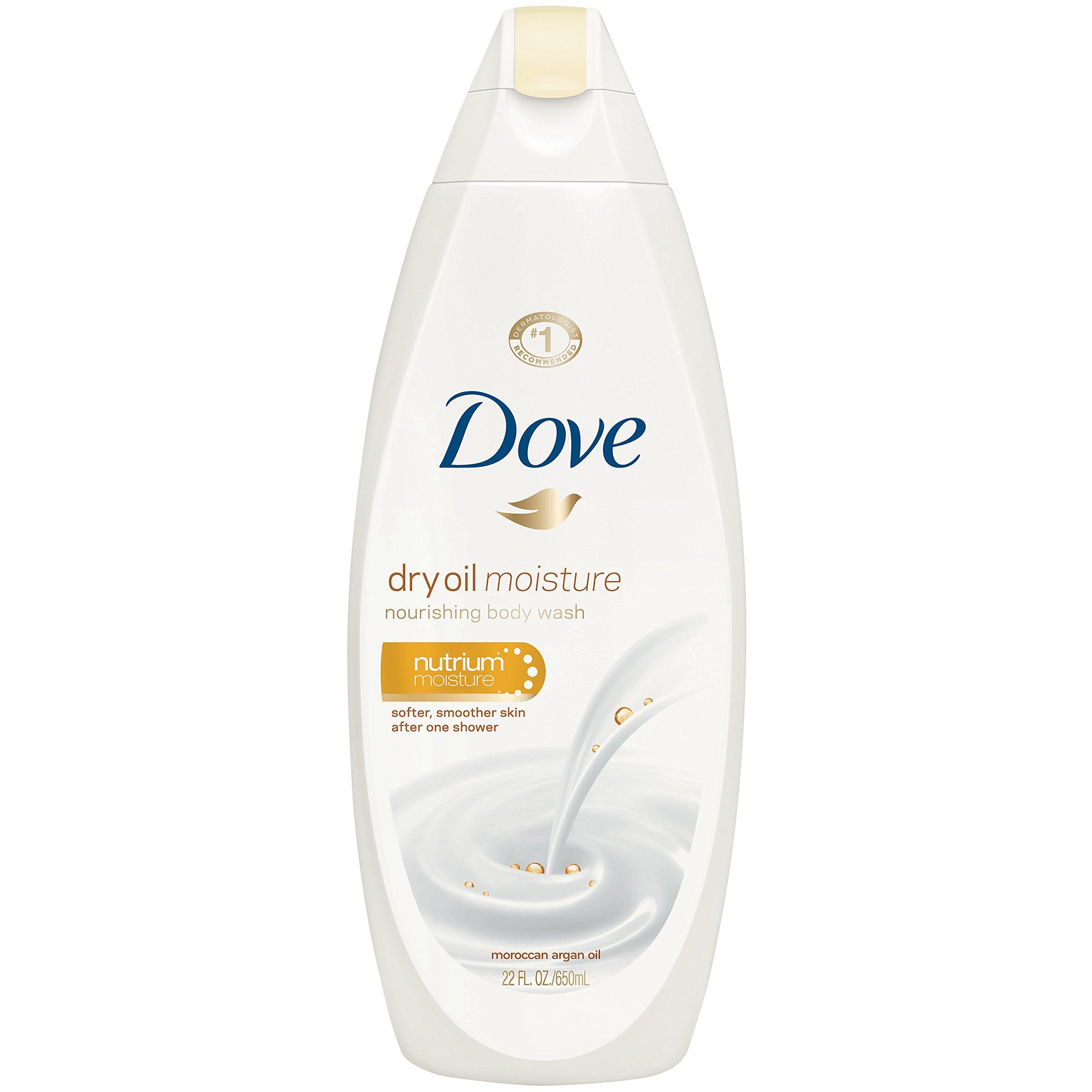 Dove Body Wash, Dry Oil Moisture 22 oz