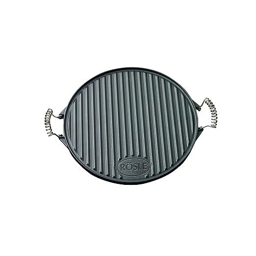 3 opinioni per Rösle RS25075, Piastra rotonda per barbecue 40 cm, ghisa