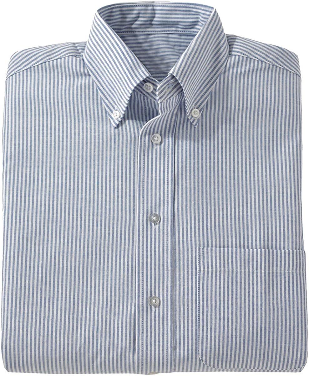 Edwards Mens Short Sleeve Oxford Shirt BLACK 3XLarge