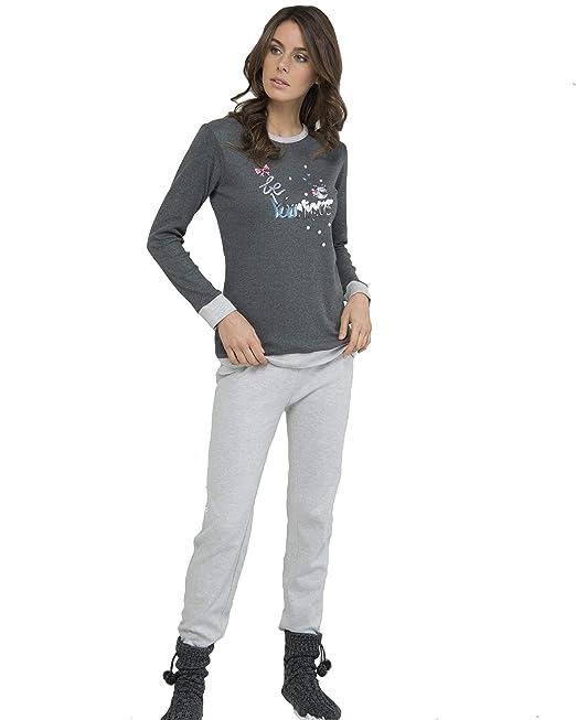MASSANA - Pijama Mujer Invierno YOUNIQUE - Marengo, S