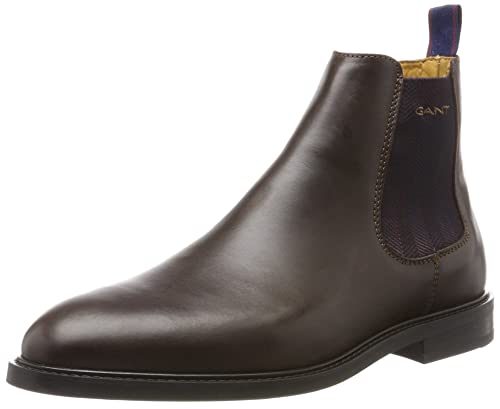 Gant Men's Ricardo Chelsea Boots, Braun (Dark Brown), 7.5 UK