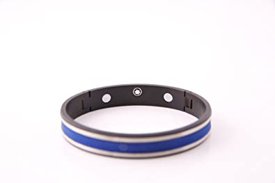 Buy Grandiose Mens Mont Blanc Stainless Steel Bracelet Only Colors