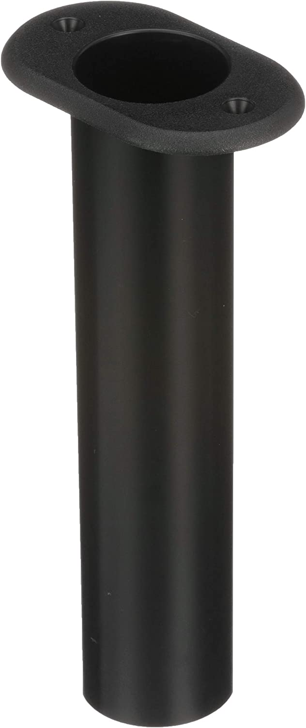 Easy to Install One Piece Includes Drain Hole Seachoice 89301 90 Degree Rod Holder