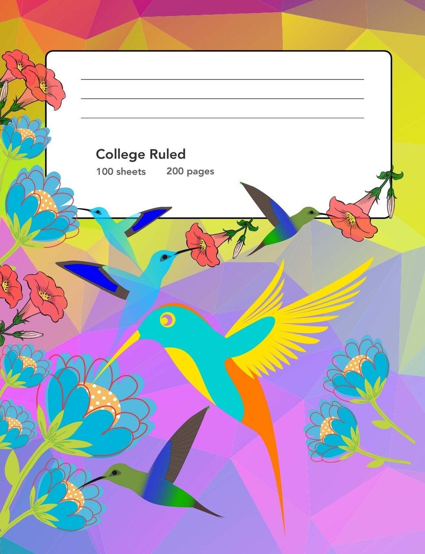 Composition Notebook: I love Hummingbirds PDF