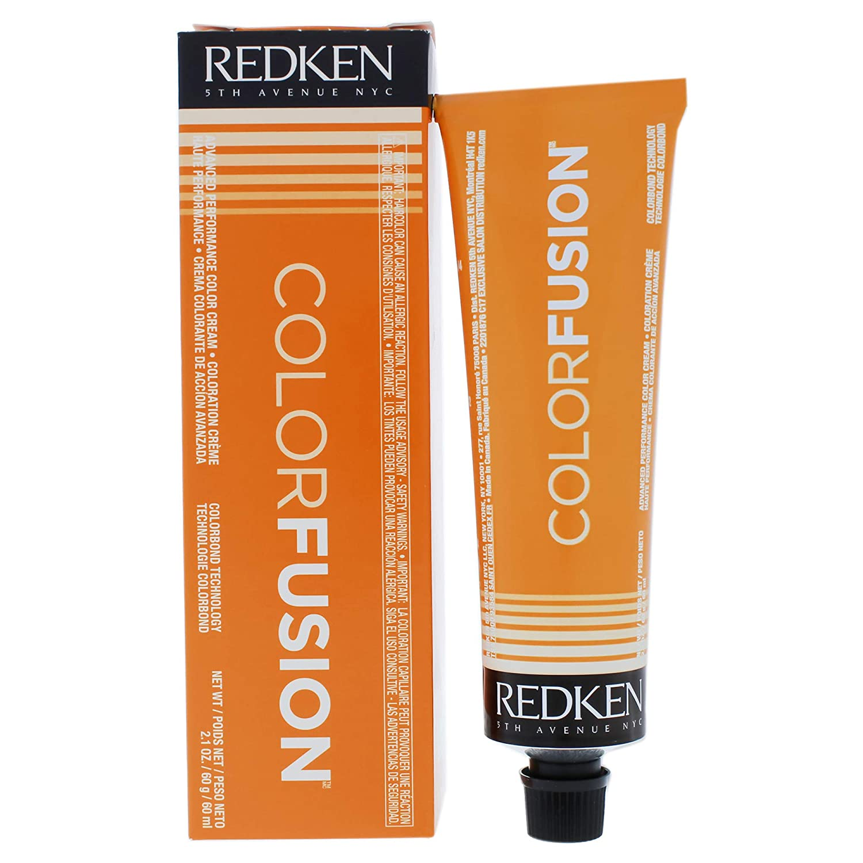 Redken Fusion Cream Natural Fashion Women's Hair Color, No. 7cr Copper/Red, 2.1 Ounce