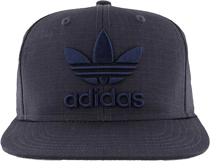 adidas Originals – Hombres De Gorra Flatbrim Cap, Hombre, Dark ...