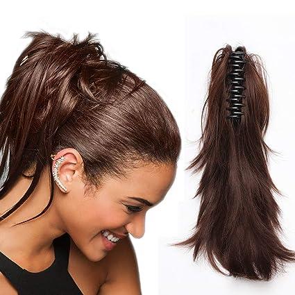 Postiche Cheveux avec Pince Extension Cheveux