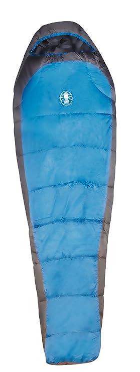 Coleman Schlafsack Schlafsack Crescent Mumienschlafsack - Saco de dormir momia para acampada, color gris/