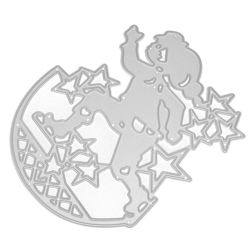 KIMODO Troqueles Scrapbooking, Metal Dies Corte Plantillas Estarcir para Álbumes de Recortes, Cortar Plantillas Troquelación Kit: Amazon.es: Hogar