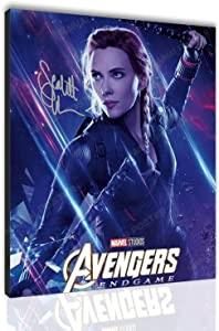 2021 Black Widow Poster Scarlett Johansson Poster HD Print Canvas Painting Gift Home Living Room Bedroom Wall Art Office Painting Decoration Santa RONA (24X30-Canvas roll up,Poster01)