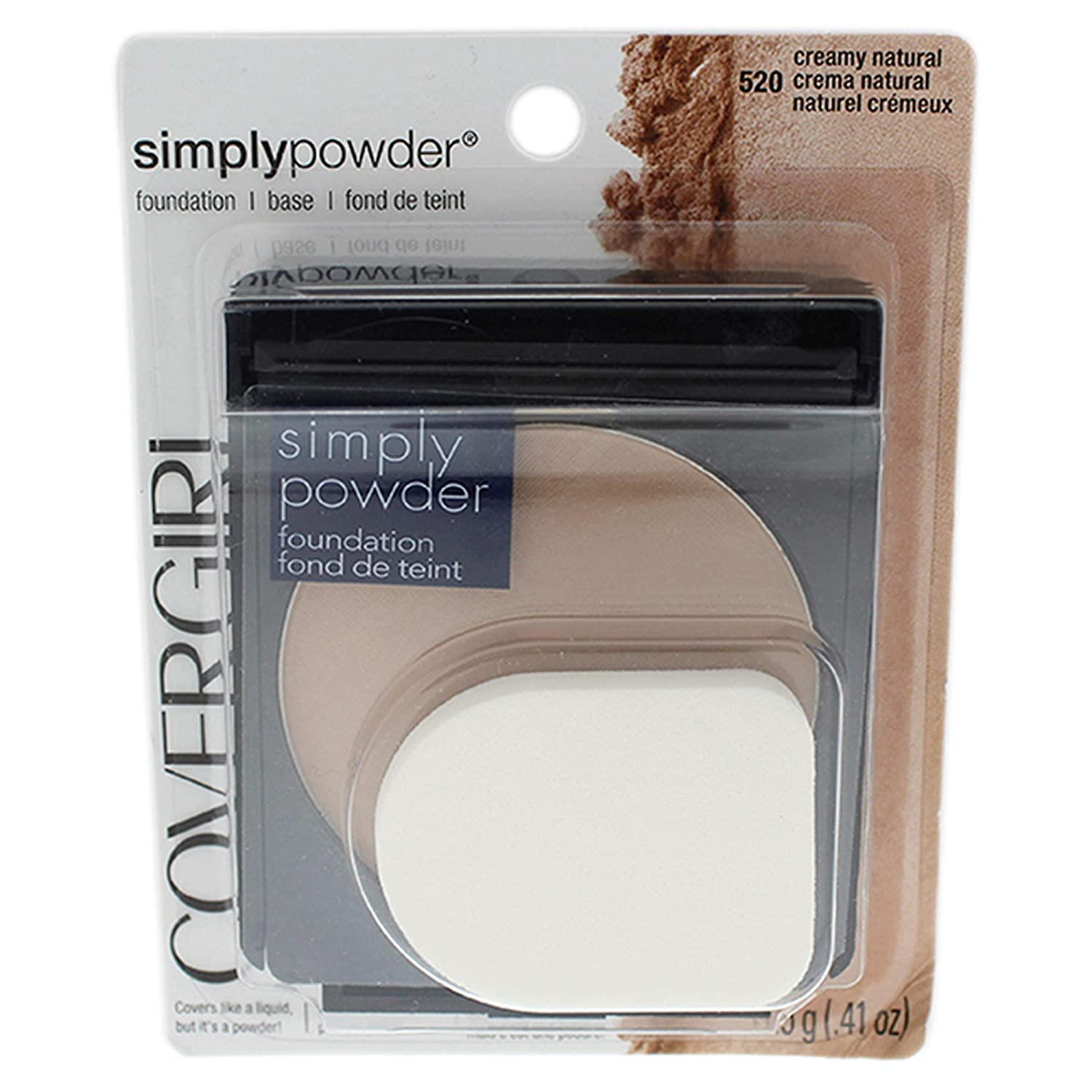 CoverGirl Simply Powder Foundation, Creamy Natural
