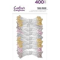 Crafter's Companion - Sellos de flores (400 unidades