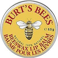 Burt's Bees 100% Natural Lip Balm, Original Beeswax with Vitamin E & Peppermint Oil - 1 Tin