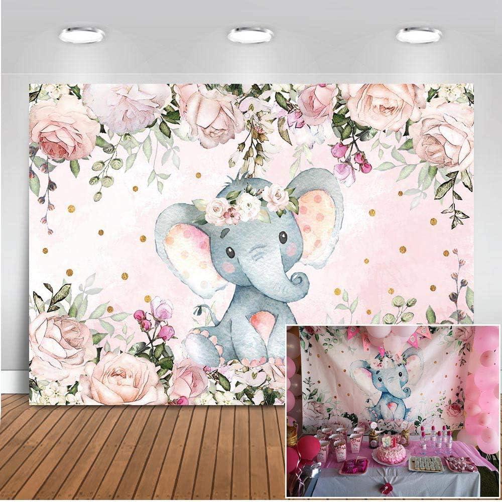Mehofoto Elefanten Hintergrund 2 1 X 1 5 M Niedlicher Kamera