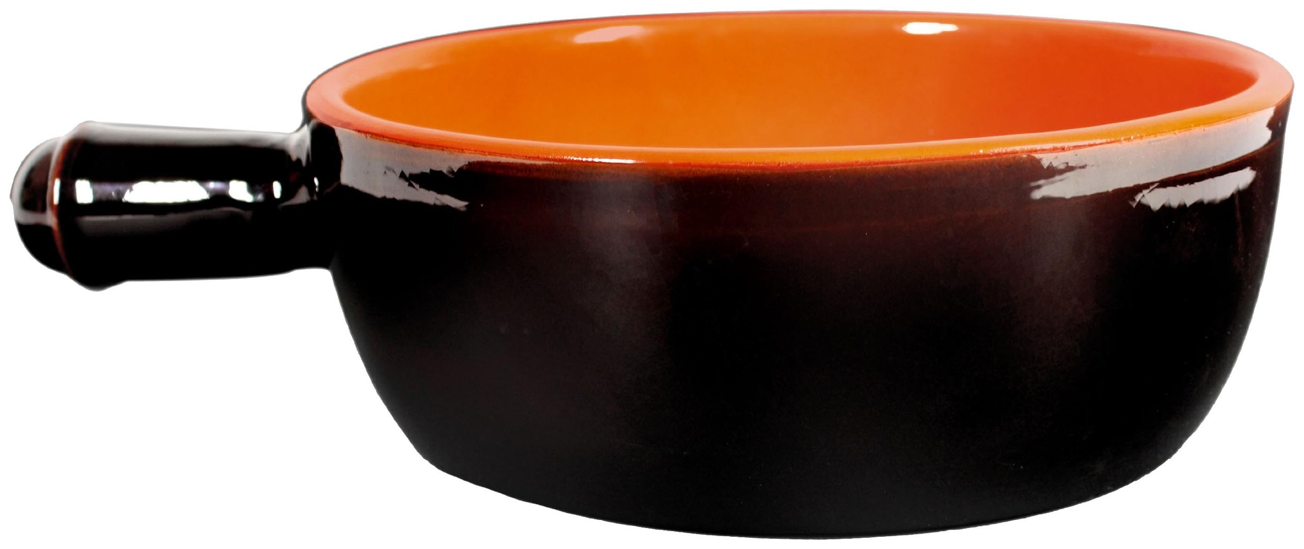 De Silva:''Terre d'Umbria'' 1-Handle Casserole Made of Terracotta (Earthenware) Ø 24 Cm [ Italian Import ]
