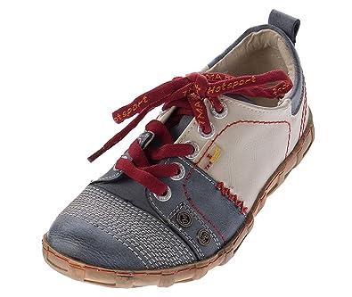 TMA Damen Leder Halb Schuhe Used Look Comfort Sneakers Grün Eyes Gr. 36 WfE2bBQ