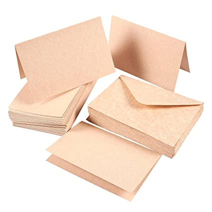 Amazon set of 48 a4 invitation envelopes and 4 x 6 blank set of 48 a4 invitation envelopes and 4 x 6 blank greeting card paper aged m4hsunfo