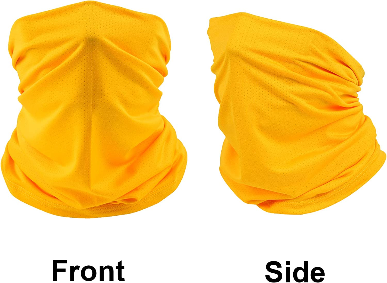 Xnuoyo Tubo El/ástico Cuello Pa/ñuelo Bufanda Prueba de Viento Calentador de Cuello Pasamonta/ñas Polaina para el Cuello Facial Ciclismo Bici M/áscara Facial Protecci/ón UV