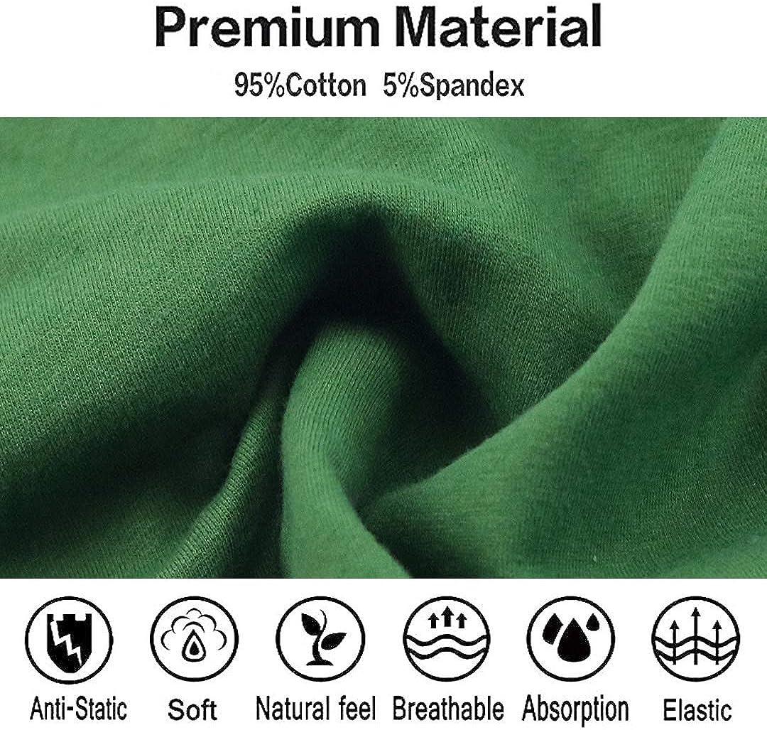 Qinglang Big Boys Comfort Soft Cotton Boxer Briefs for Autumn Pack of 4