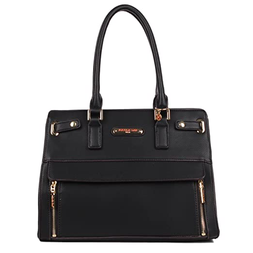 Nicole Lee Women s Ciel Large Satchel Smart Lunch Bag (Black) Travel  Shoulder, One c82599bf35