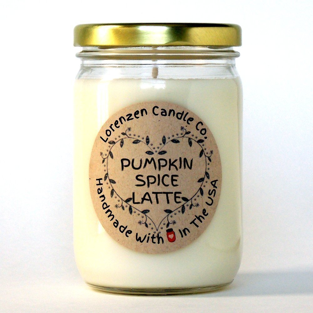 Pumpkin Spice Latte Soy Candle, 12oz