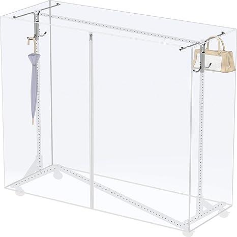 Amazon.com: Funda y soporte de tubo para bastidor de ropa ...