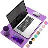 Desk pad (Aconite Violet+Eosine Pink, 23.6' x 13.7')