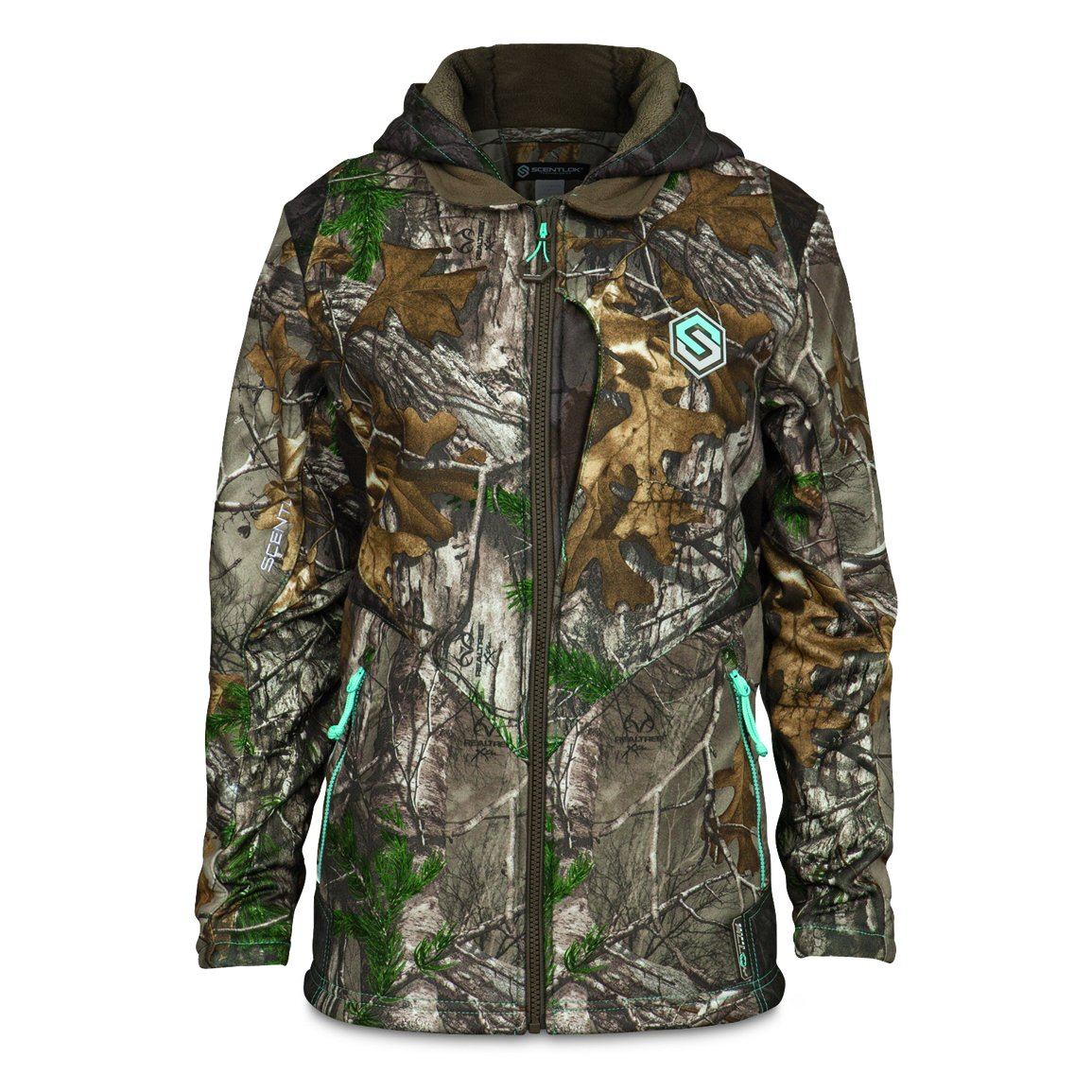 ScentLok Women's Full Season TAKTIX Hunting Jacket (Realtree Xtra, Medium) by ScentLok