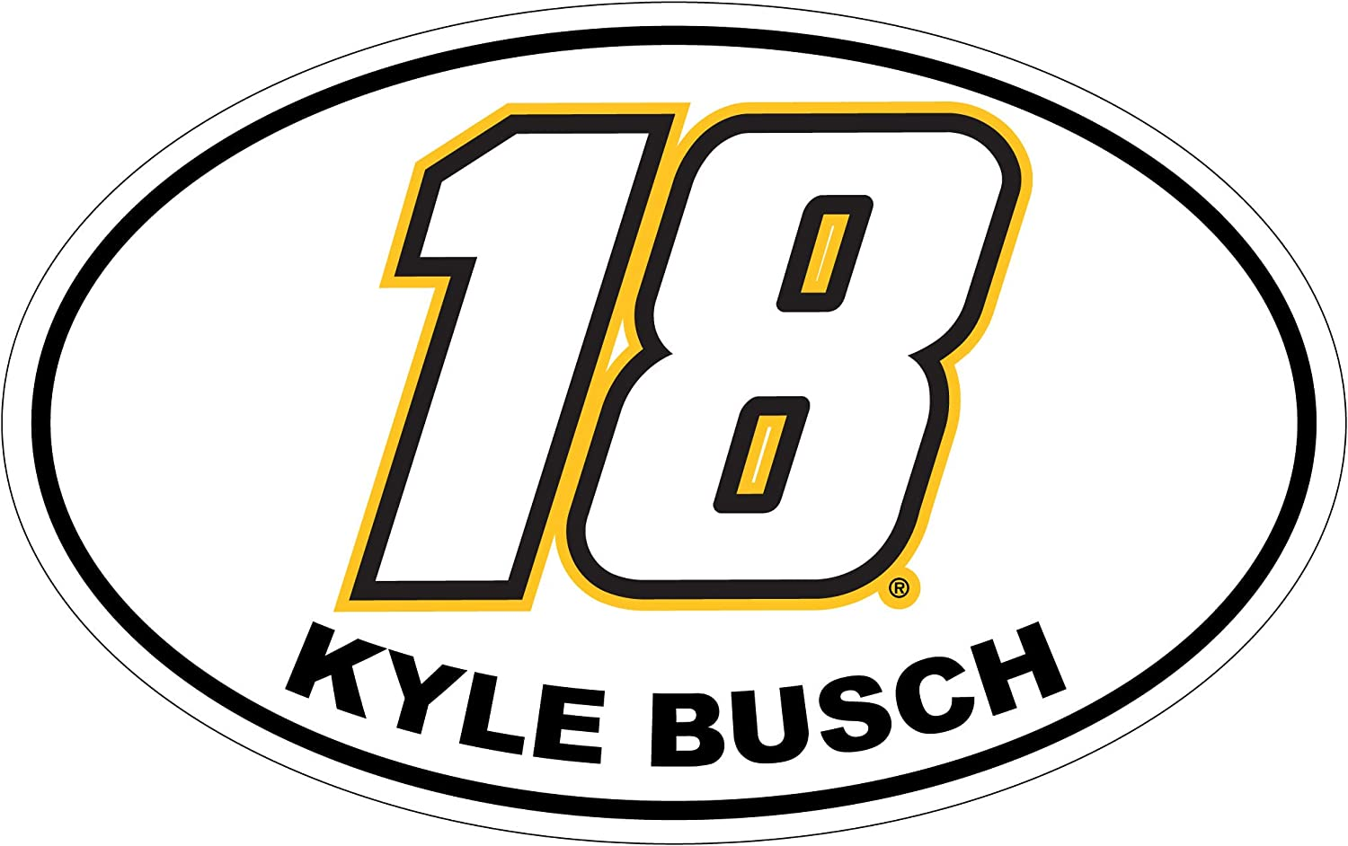 Inc Kyle Busch #18 Luggage Tag 2-Pack R and R Imports