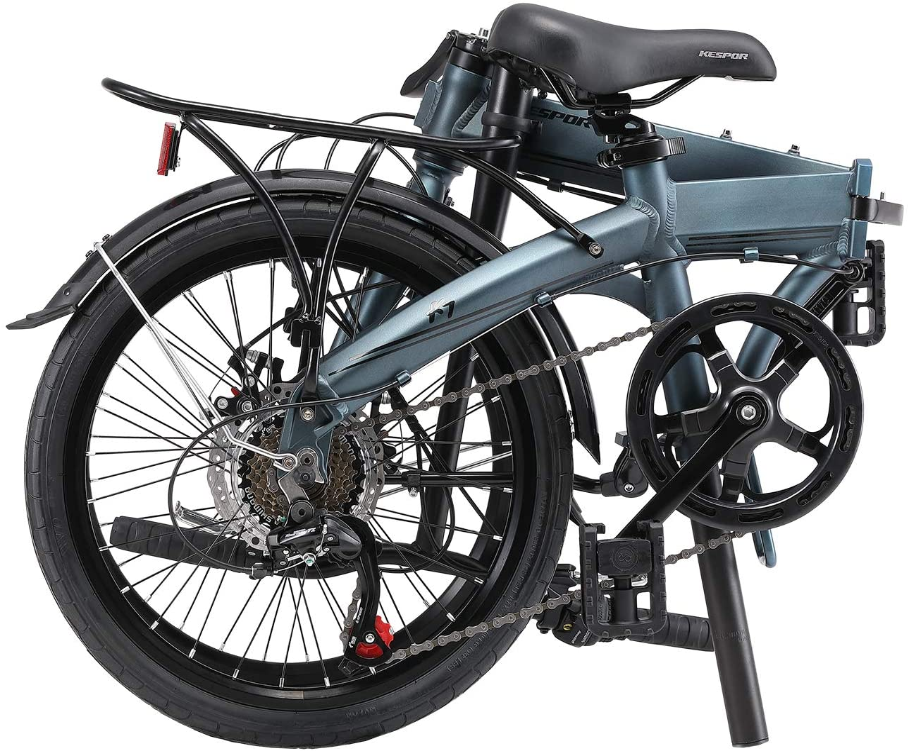 kespor bike folded in