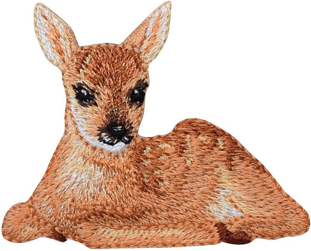 Antelope Wild Animal Embroidery Decorative Easy Iron On Applique Patch