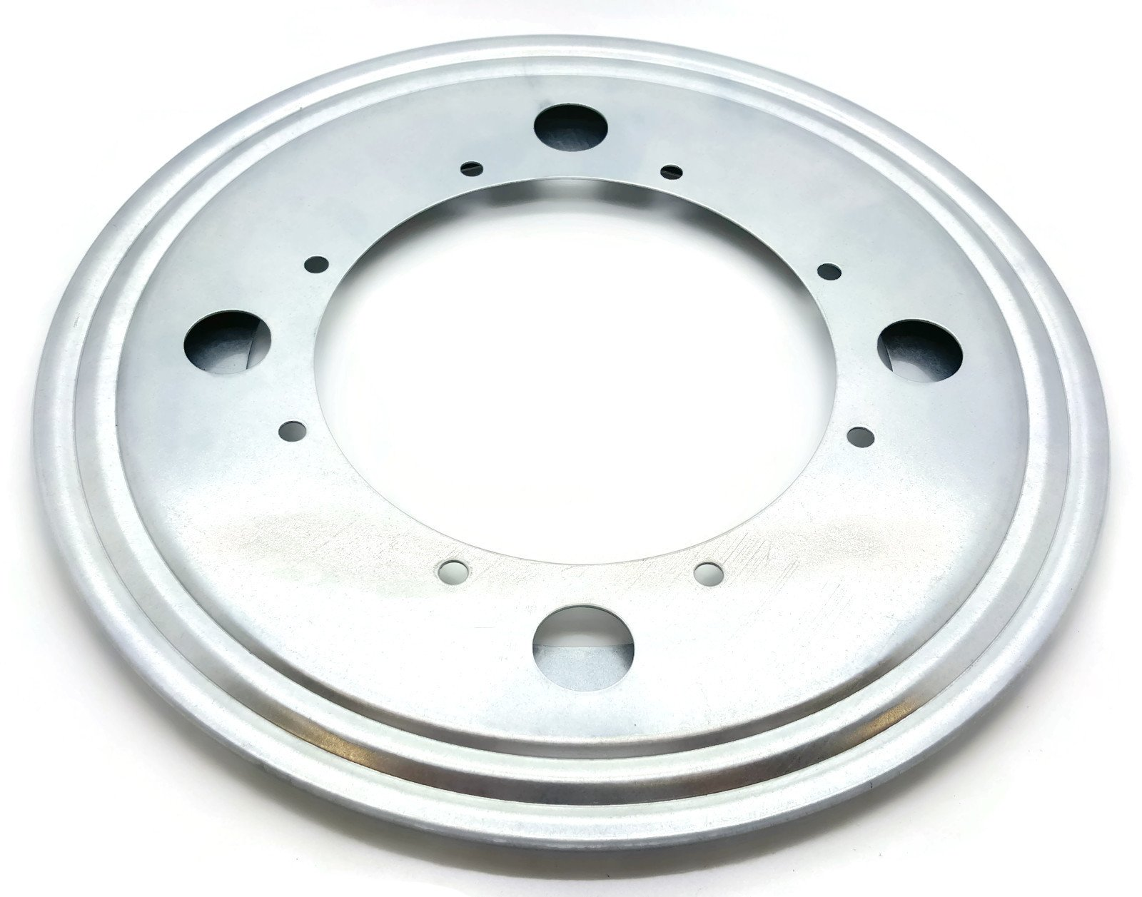 One 8'' Inch Lazy Susan Round Turntable Bearing - 5/16 Thick and 700 Lb Capacity by BC Precision