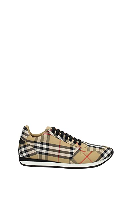 805ca1df948 BURBERRY Men s Shoes Trainers Sneakers Travis Yellow  Amazon.co.uk  Shoes    Bags