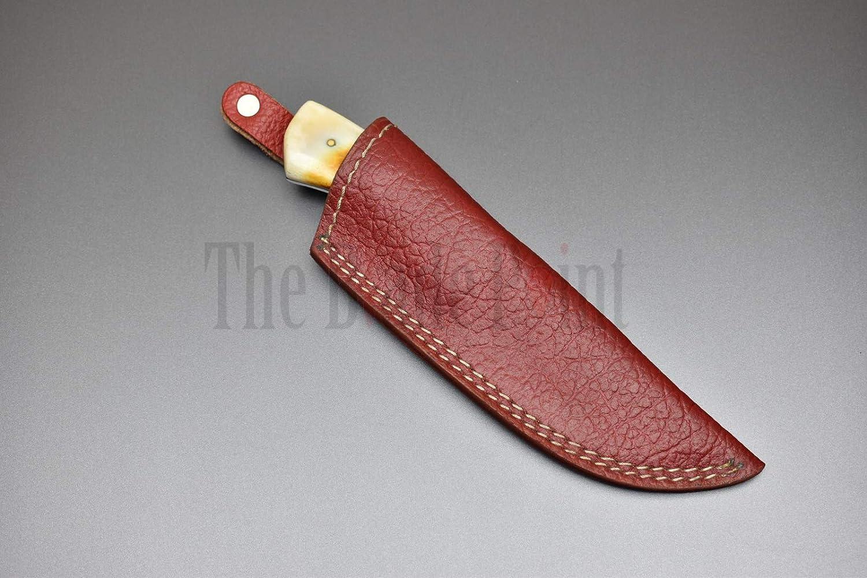 Amazon.com: Cuchillo de caza hecho a mano de acero de ...