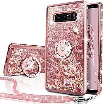 Miss Arts Funda Galaxy Note 8 [Silverback] Carcasa Brillante ...