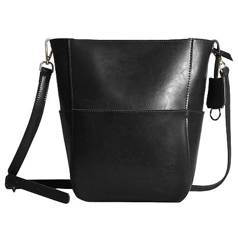 Bolsos de mujer de cuero autentico bolsos de mano bandolera de piel sintética bolsas de moda