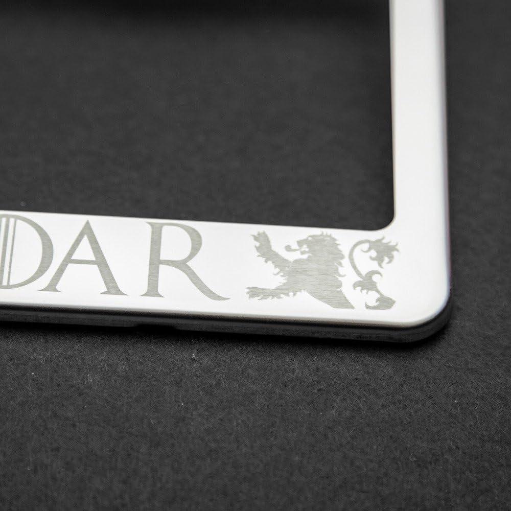 Game of Thrones  HEAR ME ROAR HOUSE LANNISTER    Custom License Plate Frame