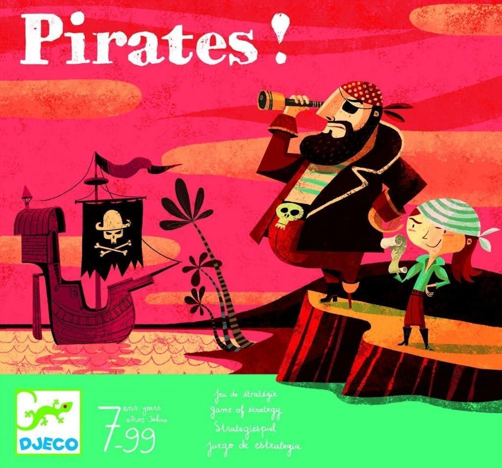 Djeco - Juego Pirates: Amazon.es: Juguetes y juegos