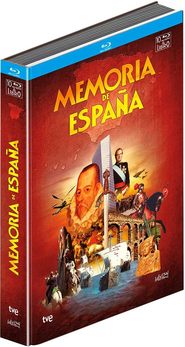 Memoria De España (BD + Libro) [Blu-ray]: Amazon.es: Cine y Series TV