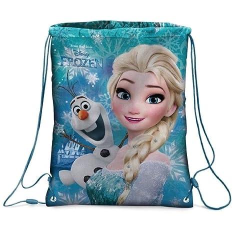 acb8607a3b Star Disney Frozen Zainetto Stampato su Entrambi i Lati, Dimensioni 32,5 x  43