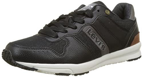 Mens Baylor Trainers, Black Levi's