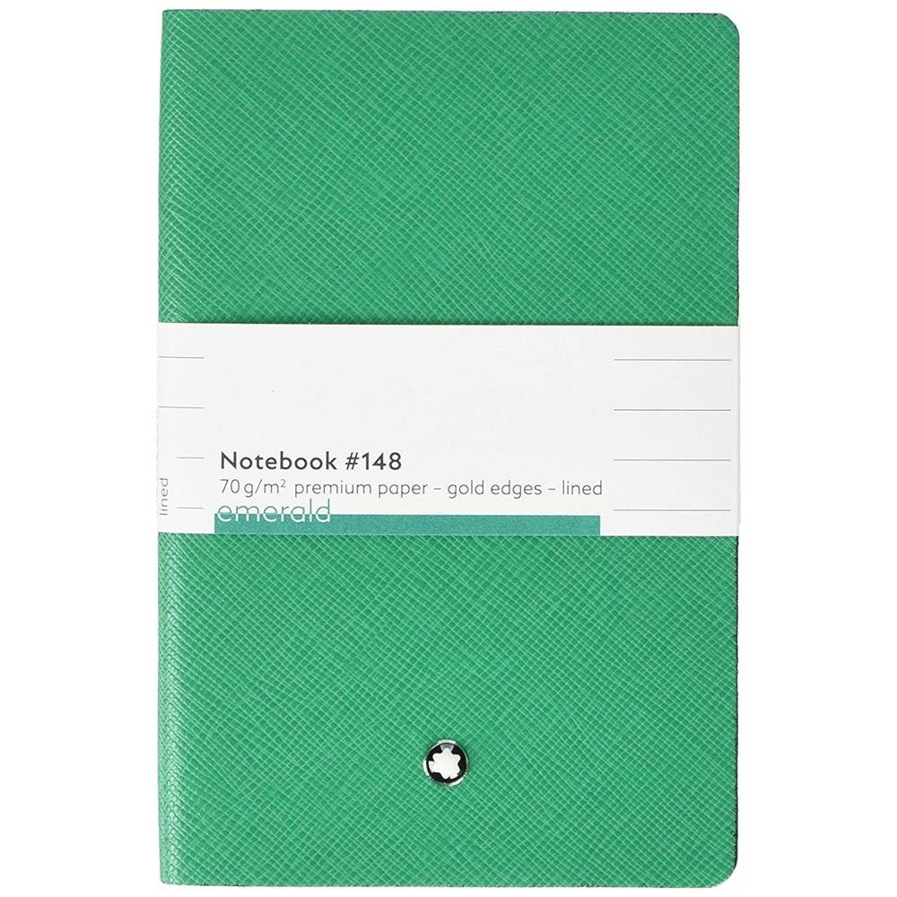 Montblanc Fine Stationery Notebook #148 Emerald Green by MONTBLANC