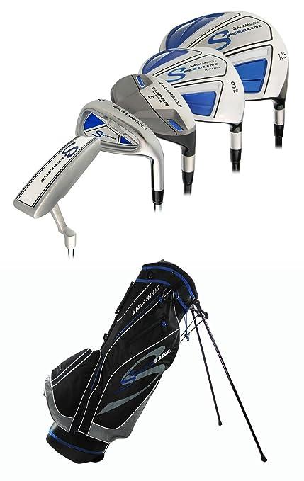 Amazon.com: Adams Golf Speedline Conjunto Completo, Mano ...