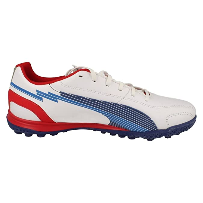Mens Puma Sporty Look Trainers Evospeed - White Limoges Ribbon Red Leather  - UK Size 9.5 - EU Size 44 - US Size 10.5  Amazon.co.uk  Shoes   Bags 6ca560a9f