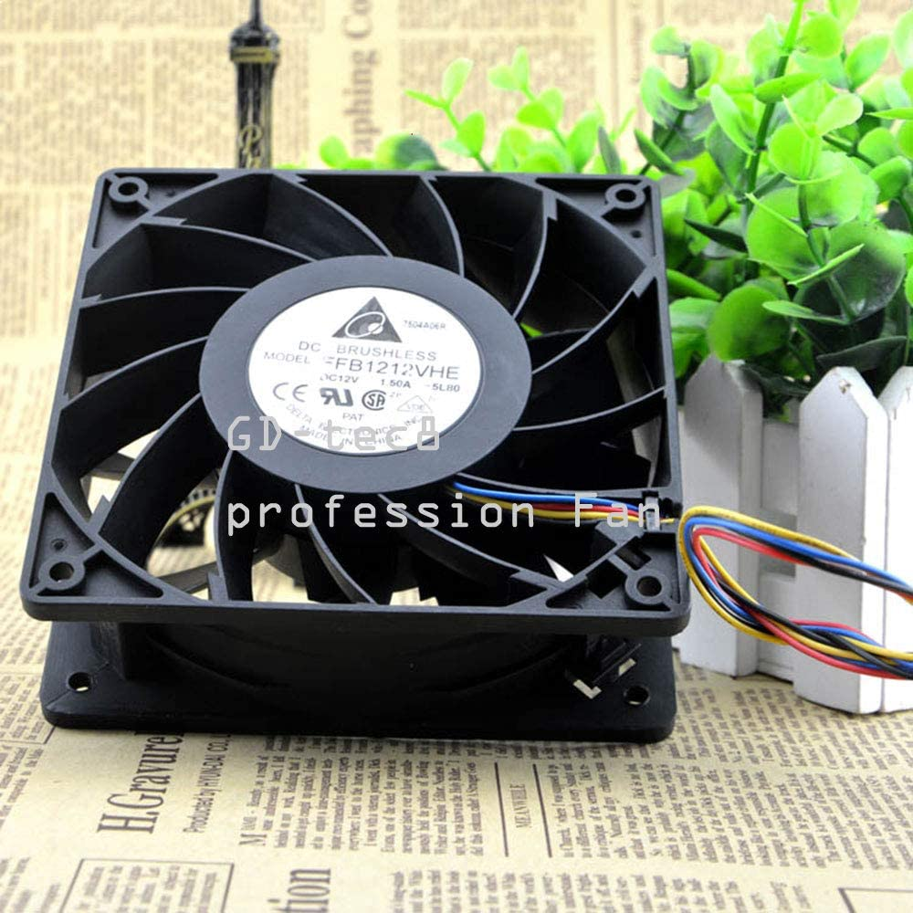 Fan for Delta FFB1212VHE 12V 1.50A PWM Fan Violence Windy Tune 12cm 120mm Fan